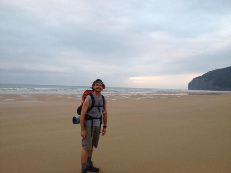 Beach walk andciruelas