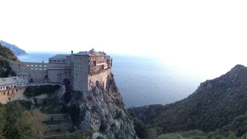 Mt. Athos, Monks and a visit to the Byzantine Empire