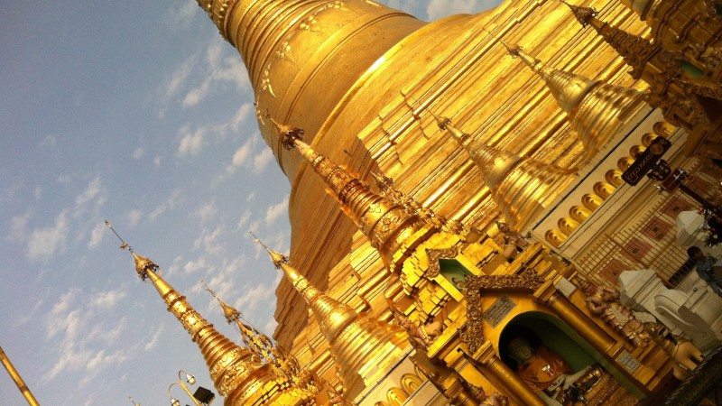 Their Weight in Gold – Shwedagon and Sagrada Familia