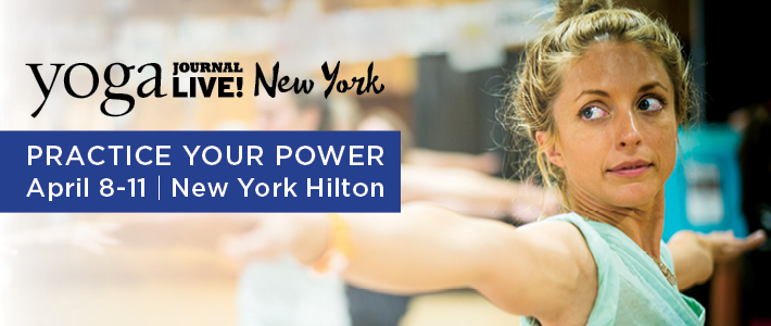 Yoga Journal Live! New YorkEvent