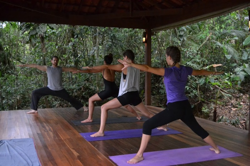 My Nine Craziest Yoga Classes Around the World