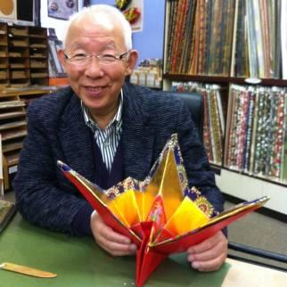 Origami Master - Tokyo, Japan