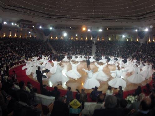 Whirling Dervishes in Konya, Turkey